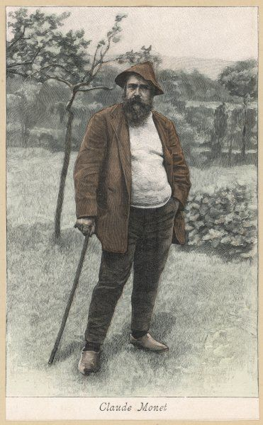 CLAUDE MONET. Claude Monet French artist