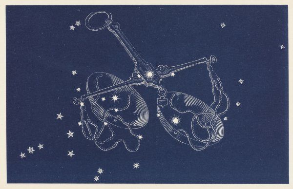 Libra. The Constellation Libra