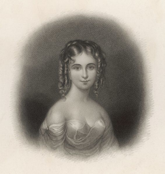 COUNTESS GUICCIOLI (1800 - 1873) Lady friend of Lord Byron and Italian noblewoman