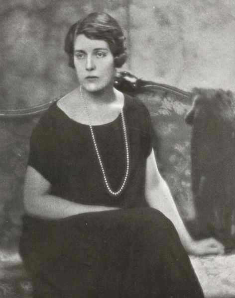 Cynthia Elinor Beatrix Spencer (1897 - 1972), known until her marriage as Lady Cynthia Hamilton. The daughter of the third Duke of Abercorn, she married Viscount Althorp (later Earl Spencer) in 1919. She is the paternal grandmother of Diana
