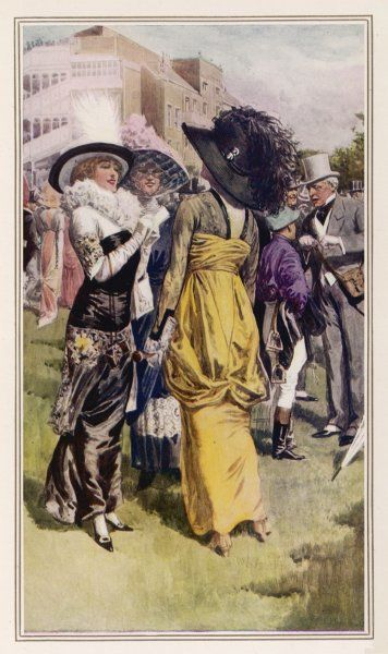 Cup Day at Ascot/1914