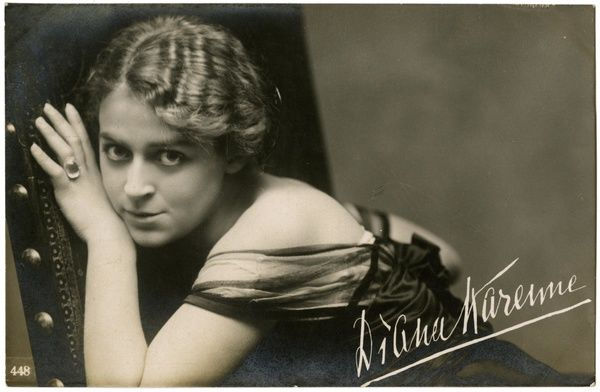 Diana Karenne (1888 - 1940), Actress in German and Italian silent films Date 68a458640a
