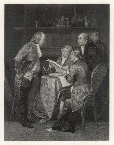 Drafting the American Declaration of Independence