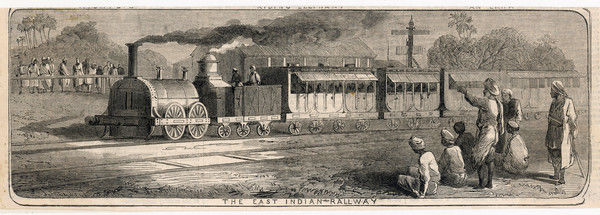 EAST INDIA RAILWAY. The East India Railway in operation