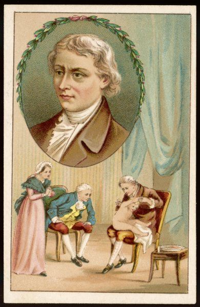EDWARD JENNER Physician and pioneer of vaccination