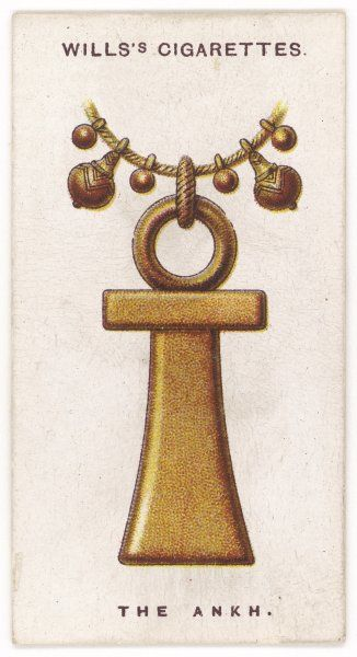 EGYPTIAN ANKH TALISMAN (also known as the 'crux ansata') - the ancient Egyptian emblem of life