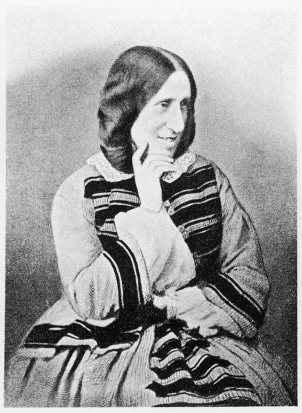 ELIOT (1819 - 1880). George Eliot. Author