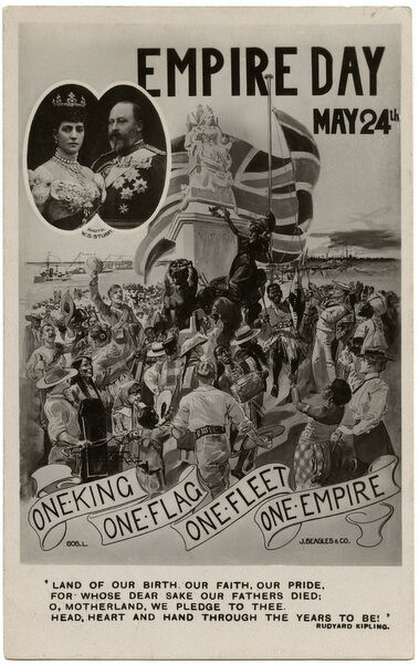 Empire Day - May 24th, 1909