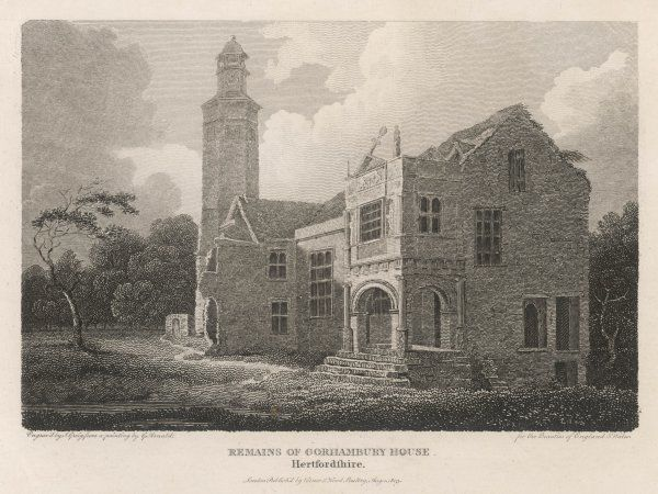 Remains of Gorhambury House, Hertfordshire
