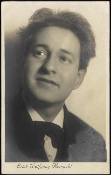 ERICH WOLFGANG KORNGOLD American composer and conductor, born in Austria (now Czech.)