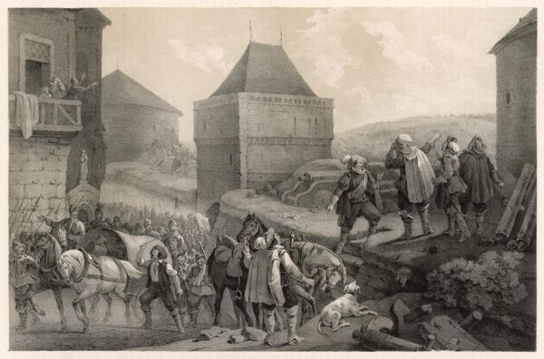 Friedrich V, Elector Palatine, the 'Winter King' of Bohemia, is defeated at the BATTLE OF THE WHITE MOUNTAIN, near Prague