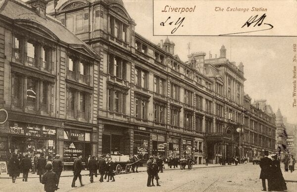 The Exchange Railway Station - Liverpool