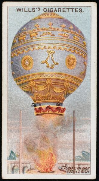 PILATRE DE ROZIER and the MARQUIS D'ARLANDES make the first successful manned flight in a Montgolfier balloon (hot air) at Paris