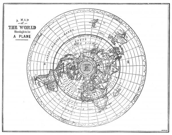 Flat earth map of the world showing it to be a plane a map of the a map of the world showing it to be a plane and those gumiabroncs Images