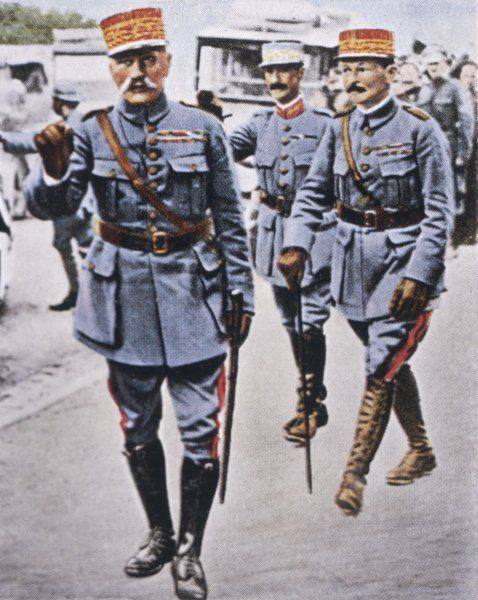 FOCH (1851 - 1929). FERDINAND FOCH - Marshal of the French army during World war I