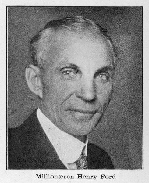 FORD (1863 - 1947). HENRY FORD - American automobile manufacturer