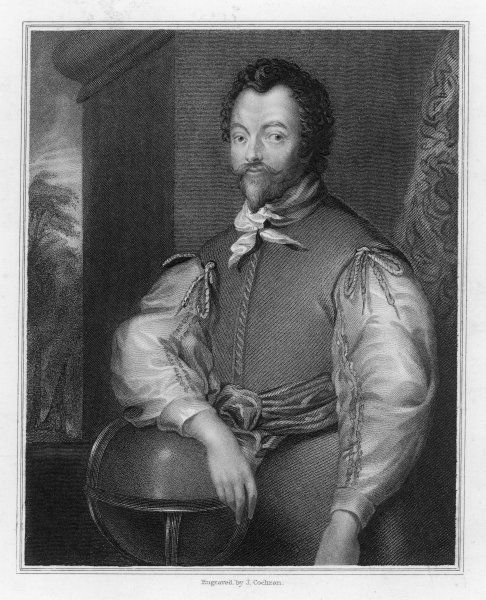 SIR FRANCIS DRAKE English Admiral