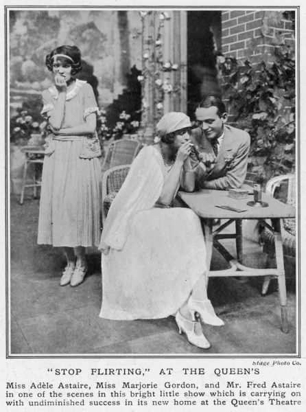 Fred and Adele Astaire in Stop Flirting