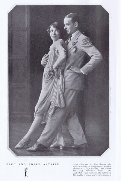 Fred and Adele Astaire in Stop Flirting, London, 1924