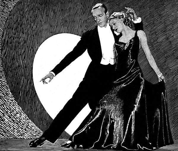 Fred Astaire And Ginger Rogers 7332396 Framed Prints Wall Art