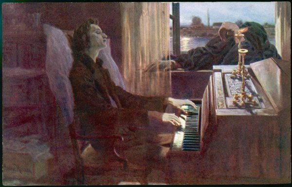 FREDERIC CHOPIN Polish musician 'the last notes'