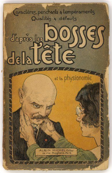 'D'APRES LES BOSSES DE LA TETE' (by the bumps of the head) - a French guide to the science of phrenology