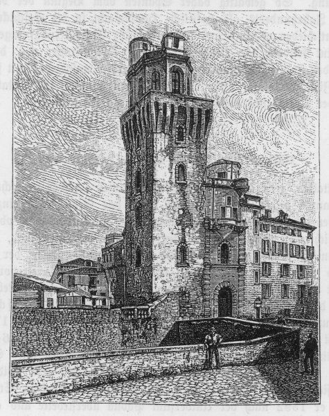 his observatory at Padova (Padua)