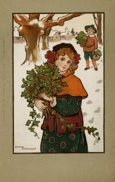 Gathering Holly by Ethel Parkinson