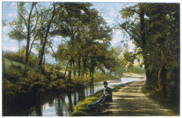 "GEORGE ELIOT (MARY ANN EVANS) Coventry Canal = 'Red Deeps' in ""The Mill on the Floss.&quot"