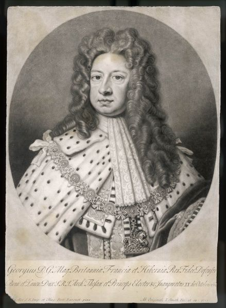 GEORGE I KING OF ENGLAND