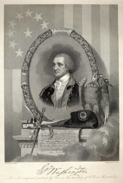 George Washington, American soldier and statesman