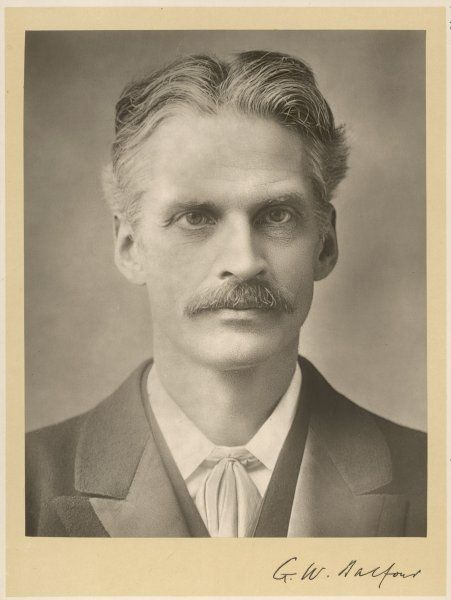 GERALD WILLIAM BALFOUR Statesman and psychical researcher