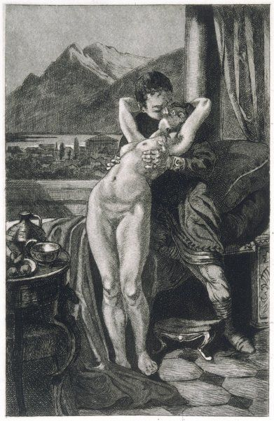 An Athenian makes love to his fiancee, unaware that she has died and that it is her spirit which is visiting him from beyond the grave