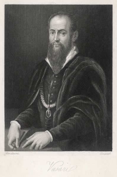 GEORGIO VASARI Italian artist, architect and art historian, famous for his 'Lives of the painters'