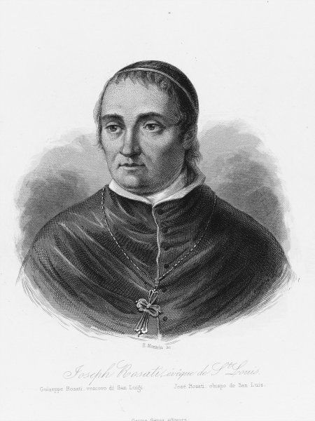 Giuseppe Rosati, Italian Jesuit, Bishop of St Louis, Missouri, USA. He founded St Louis University in 1827
