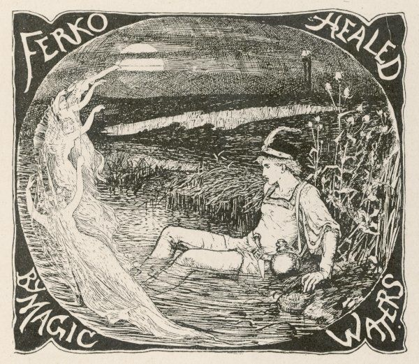 THE GRATEFUL BEASTS. Ferko is healed by the magic waters. (Hungarian story)
