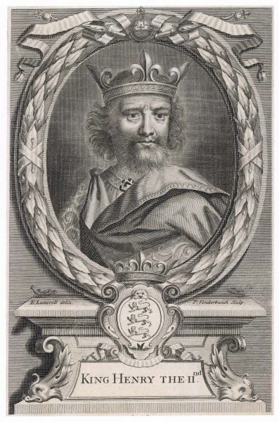 KING OF ENGLAND Reigned 1154 - 1189 Portrait