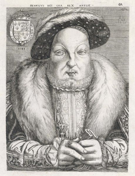 HENRY VIII /METSYS. KING HENRY VIII at the end of his life
