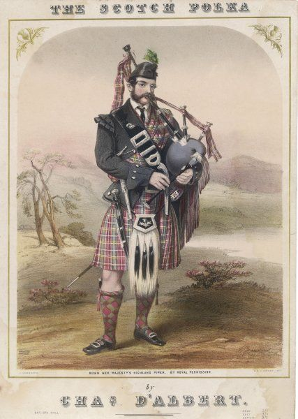 Ross : Victoria's highland piper