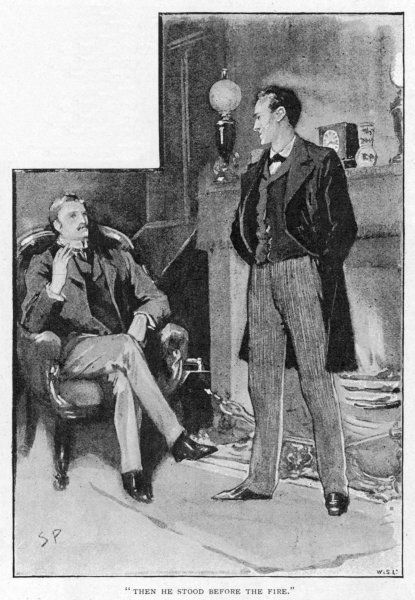 A SCANDAL IN BOHEMIA Holmes and Watson at Baker Street