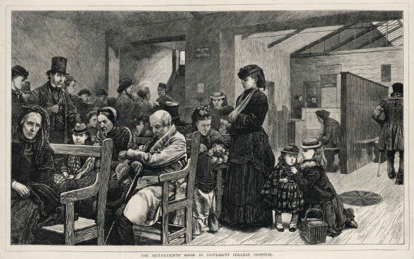 HOSPITALS/BRITAIN. The Out-Patients' Room and the Dispensary for Women