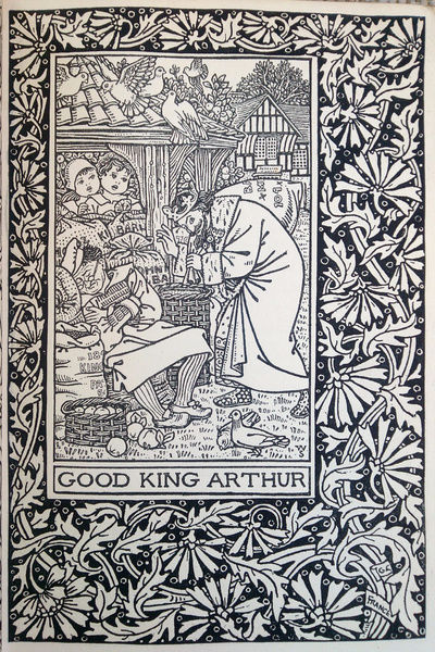 Illustration, Good King Arthur