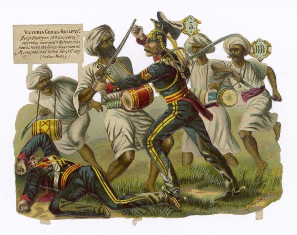Indian Mutiny. Sgt.Hartigan of the 9th Lancers