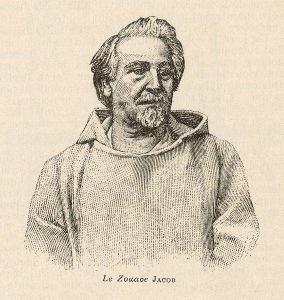 AUGUSTE HENRI JACOB known as 'LE ZOUAVE' French soldier who became healer & clairvoyant