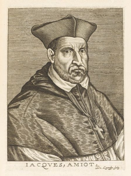 JACQUES AMYOT French prelate and scholar
