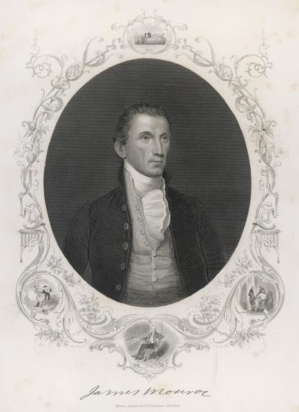 James Monroe/Anon. JAMES MONROE Fifth President of the United States Date: 1758 - 1831