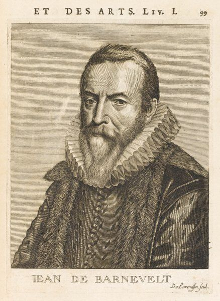 JAN VAN OLDEN BARNEVELDT Dutch statesman