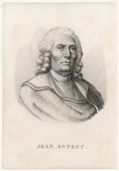 JEAN ASTRUC French physician and medical writer