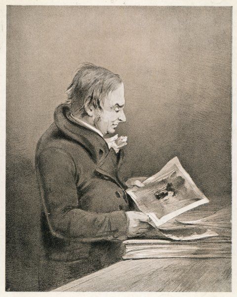 JMW TURNER/JT SMITH. J M W TURNER English painter looking at his drawings