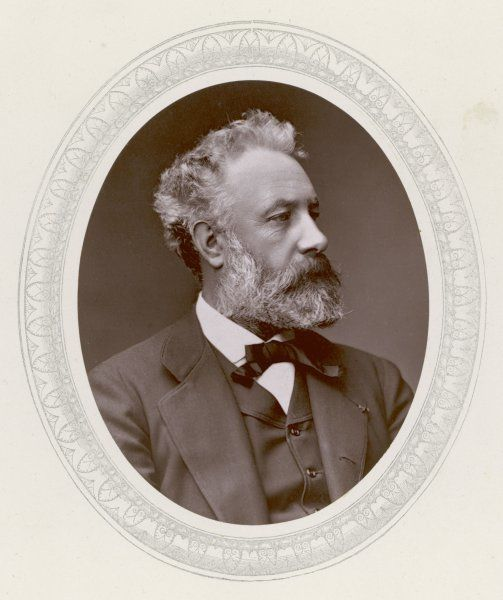 JULES VERNE (1877). JULES VERNE French science fiction writer, in 1877